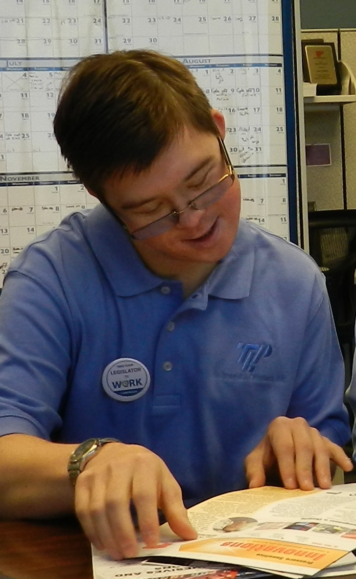 Patrick at Work