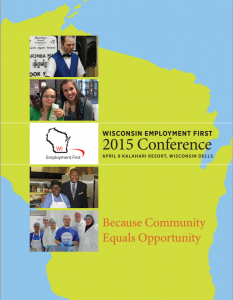 Wisconsin Employment First 2015 Conference